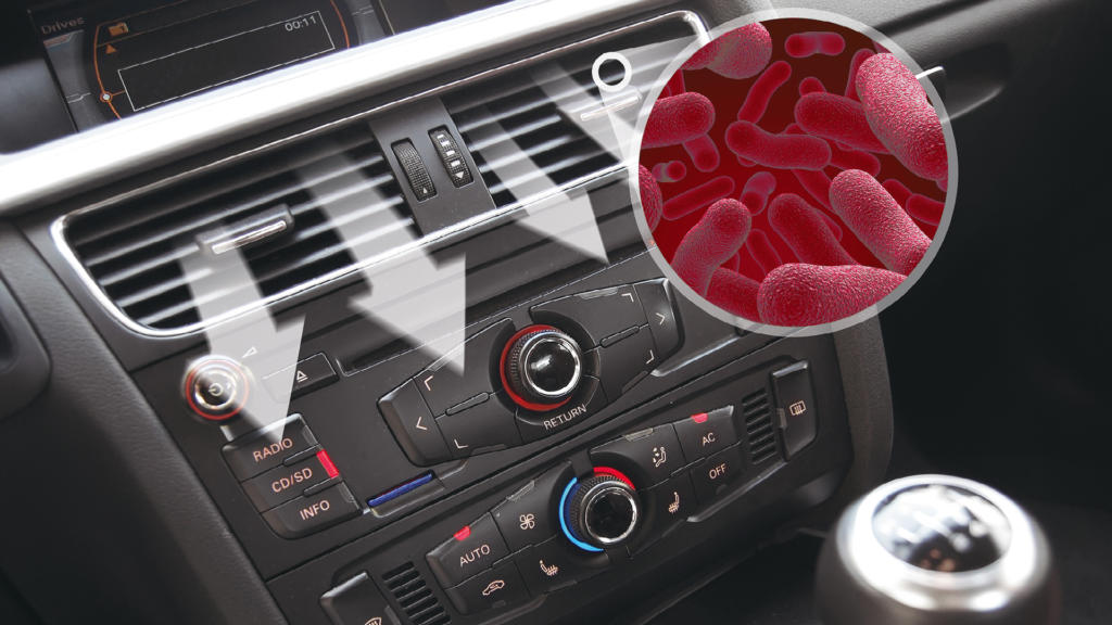 First Stop-Experten führen den Klima-Service in Ihrem Fahrzeug durch.