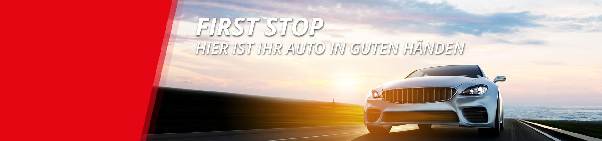 First Stop | Ihr Shop für Reifen, KFZ-Services und mehr