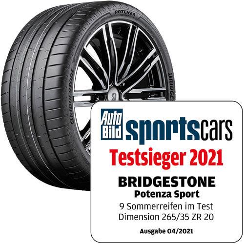 Bridgestone Potenza Sport Testieger